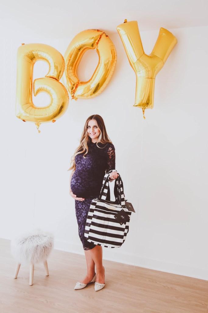 A Baby Sprinkle for Baby Boy Bond | BondGirlGlam.com