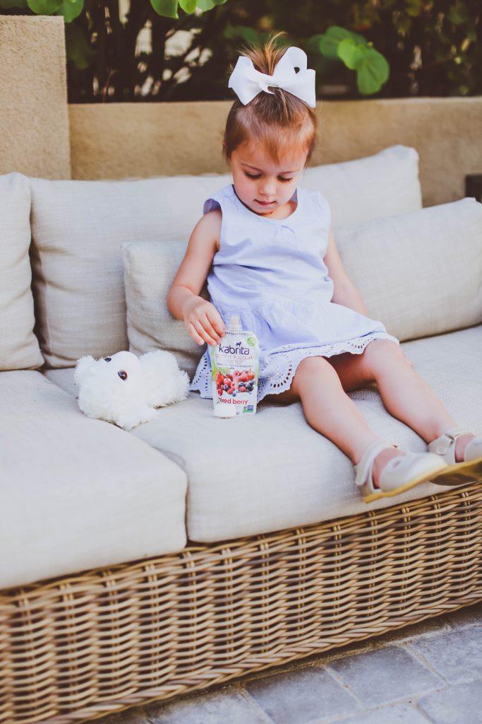 Kabrita Goat Milk Yogurt Pouches Review & Giveaway | BondGirlGlam.com
