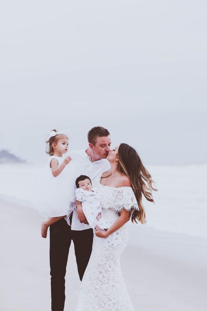 Family of Four // Introducing Our Baby Boy | BondGirlGlam.com
