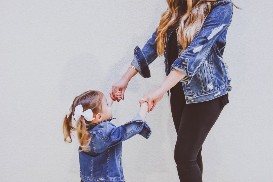 Ootd Matching Mommy And Me Denim Jackets