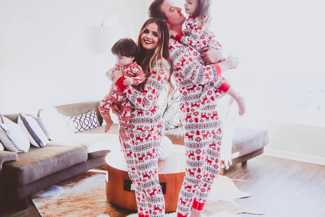 The Best Matching Family Christmas Pajamas Bondgirlglam