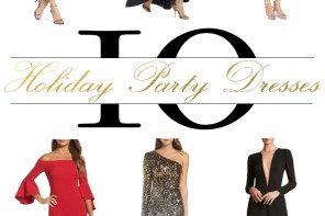 10 Holiday Party Dresses