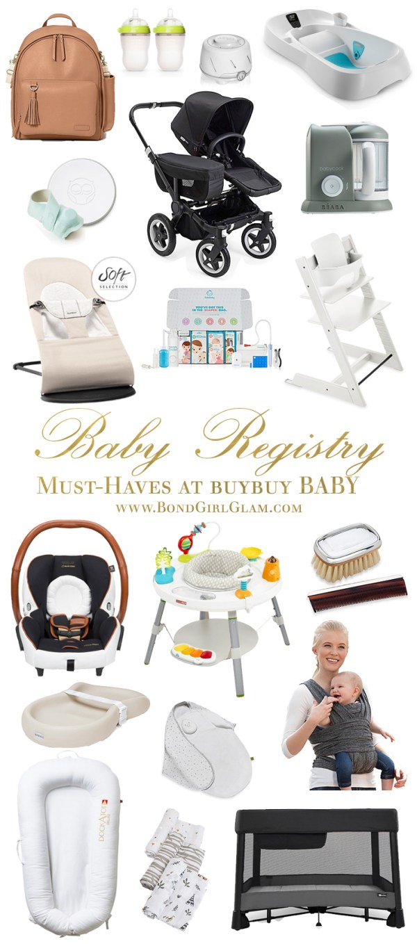 My Baby Registry Must-Haves at buybuy BABY | BondGirlGlam.com