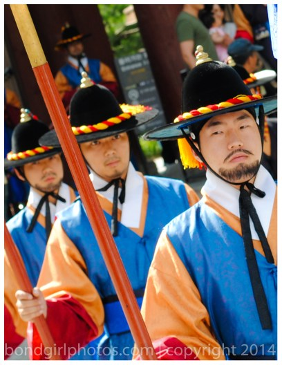 #Korea #guards #Seoul #Asia