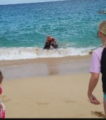 Marine-rescues-two-children-from-drowning-at-beach