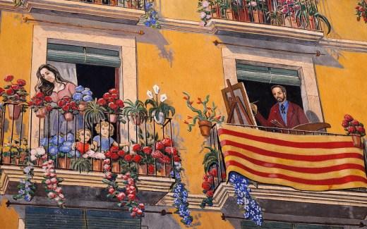 Streetart in Tarragona | Streetart spotten in Tarragona