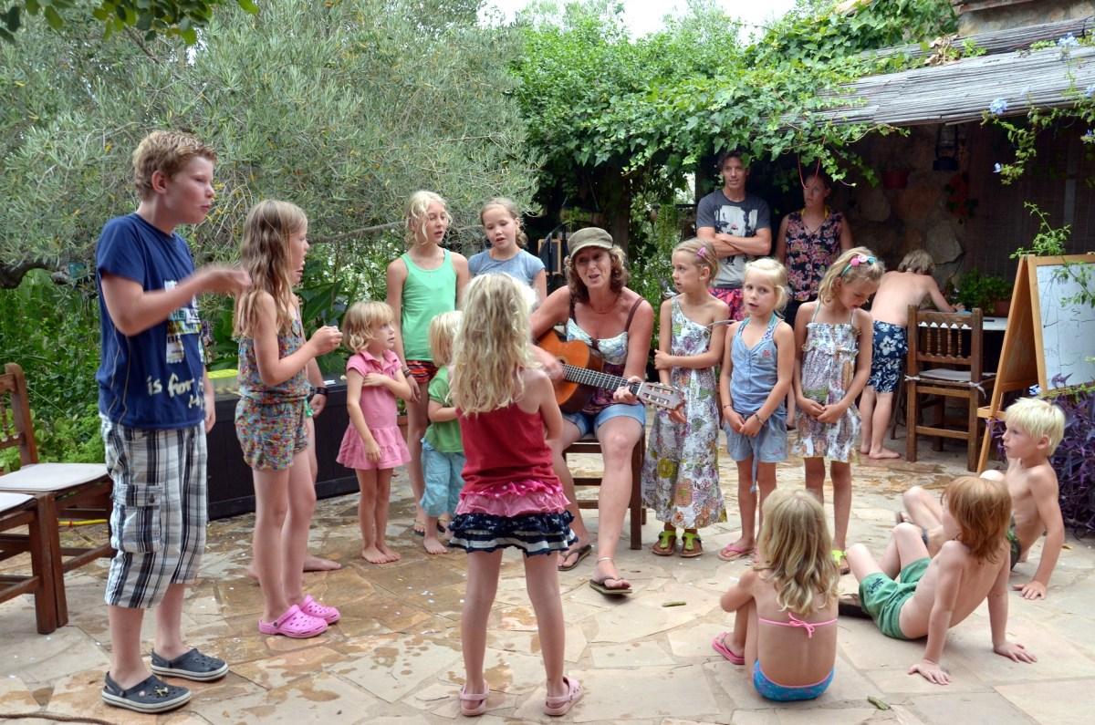 Casa Valerosa, Pippilangkous camping in olijfgaard