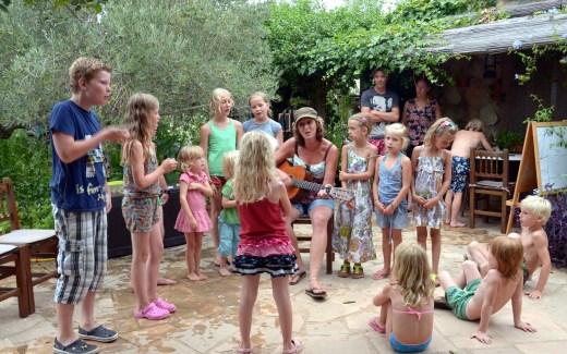 Pippilangkous camping Casa Valerosa | kleine camping in noord Spanje | Camping in El Perello