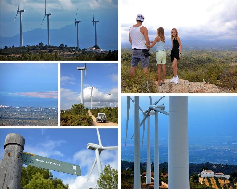 Windmolenpark Tortosa