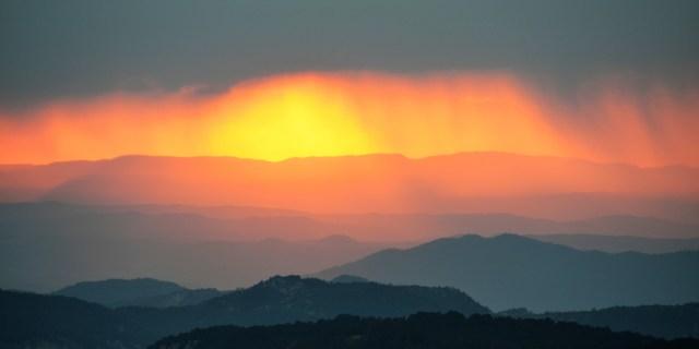 Zonsondergang Bona nit Tarragona (1)