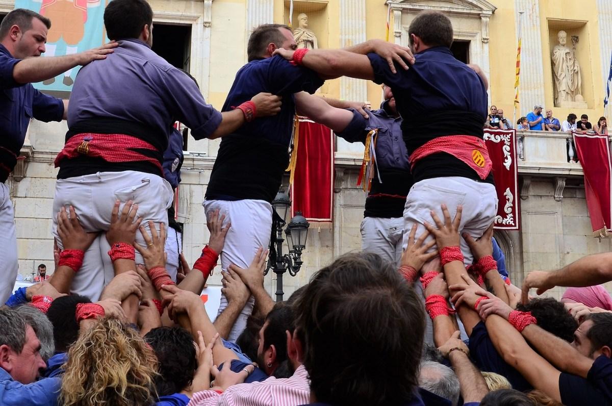 Santa Tecla Tarragona | Strijd menselijke torens