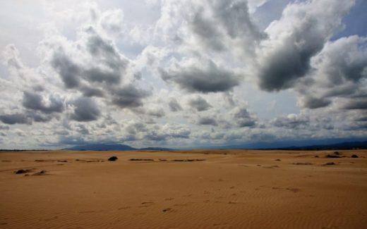 Woestijn aan zee Ebro Delta