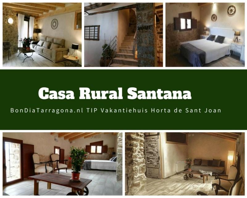 Vakantieappartementen Tip Horta de Sant Joan | Casa Rural Santana