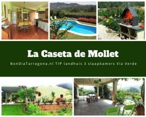 Vakantiehuis tip Benifallet | Landhuis Benifallet | acoommodatie Tarragona | Ontdek natuurpark Els Ports