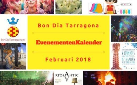 Evenementenkalender Tarragona februari 2018 | Tarragona must do februari 2018