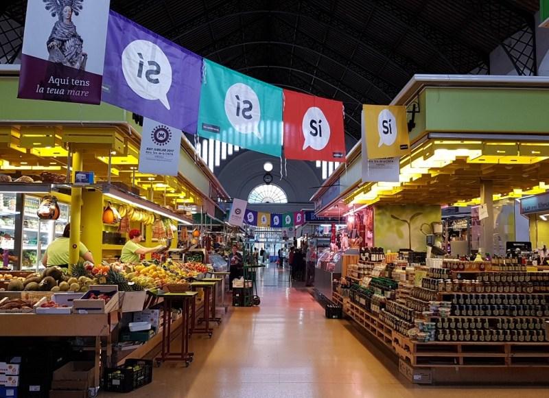 Mercat municipal Tortosa de gemeentelijke markt in Tortosa