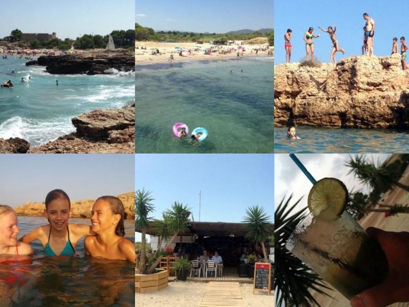 Stranden Tarragona | Baaien Tarragona | Stranden en baaien Tarragona