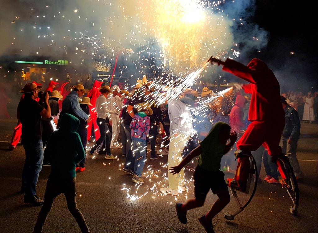 Ebre Correfoc Tortosa | Het bal van de vuurduivels