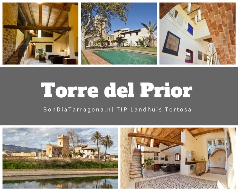 Hoteltip Tortosa | Landhuis Torre del Prior Tortosa