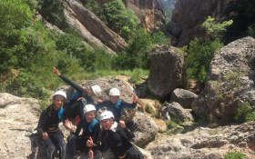 Canyoning in Els Ports