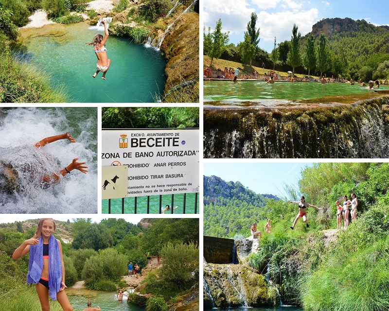 Natuurzwembad in Beceite Els Ports