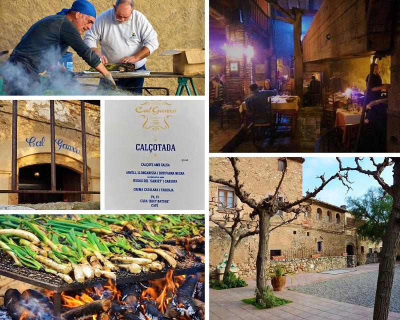 Cal Ganxo Calcot Restaurant in Valls