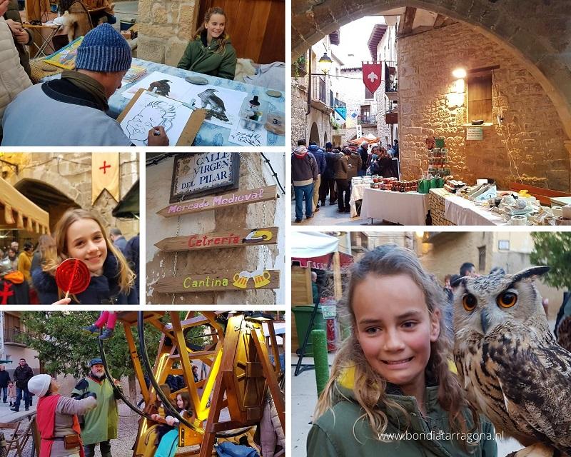 Middeleeuwse Markt in Cretas | Middeleeuwse markten Tarragona