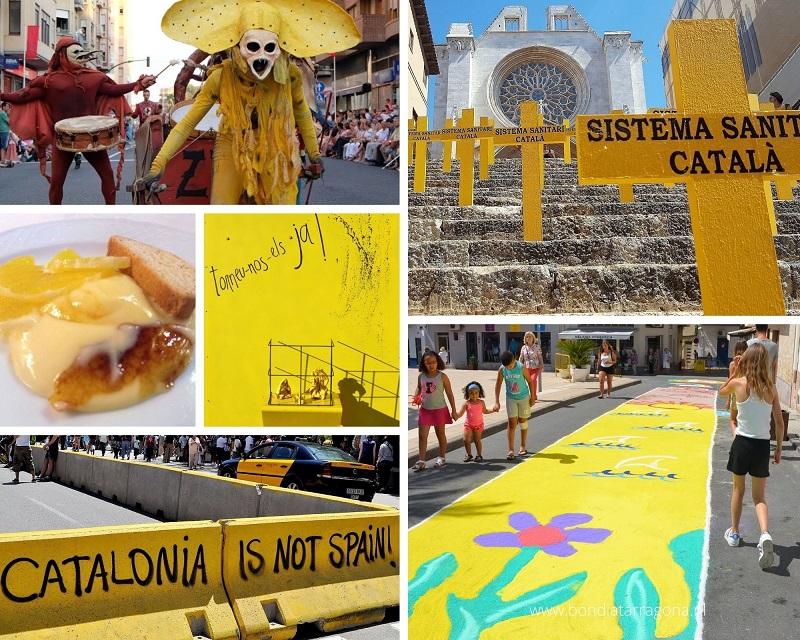 Gele reisfoto's Tarragona | Yellow travel Pics Tarragona