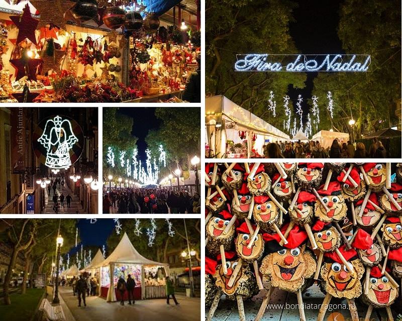 Kerstmarkt in Tarragona | Kerstmarkten Tarragona