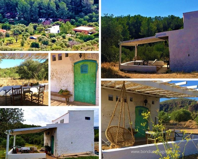 Tiny vakantiehuis Mont Roig / Natuurhuisje Tarragona