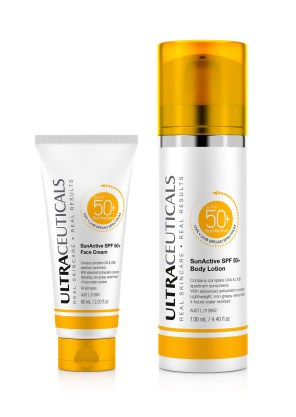 Ultraceuticals 50 + provides excellent protection