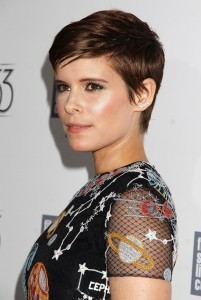 Kate Mara at the 53rd New York Film Festival (Photo by Laura Cavanaugh)