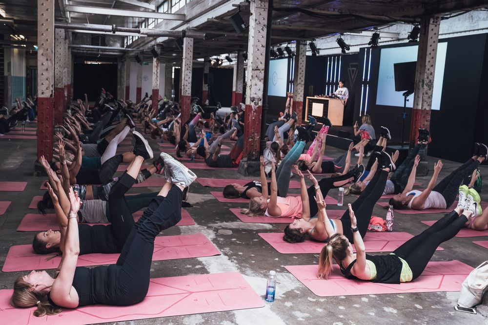 New fitness trends at Balance Festival