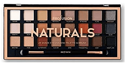 Profusion 24 Color Artistry Eyeshadow Palette ~ Naturals