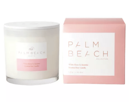 Palm Beach Collection candle and packaging. Image from palmbeachcollection.com