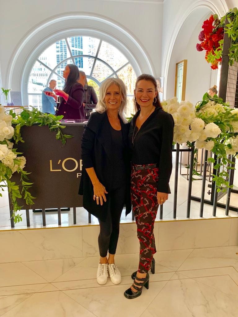 BB founder Renae Leith-Manos at Loreal event