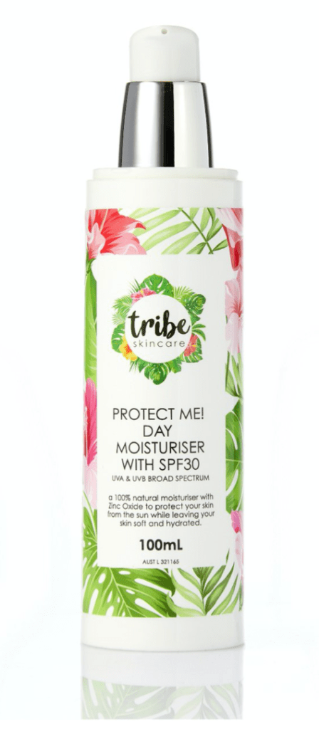 Tribe Skincare Sunscreen protection Protect Me moisturiser
