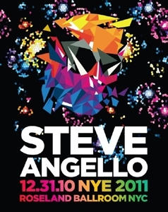 New Year's Eve 2011 at Roseland Ballroom With Steve Angello