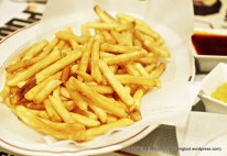 French Fries with Truffle Oil.