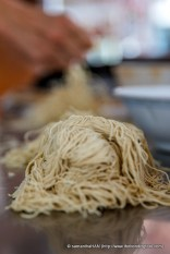 These egg noodles are the signature of Restoran Chin Chin.