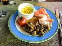 My birthday breakfast.