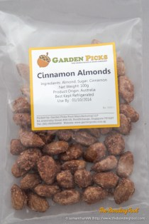 Cinnamon Almonds.