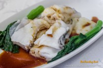 Rice Rolls with Fish Fillet.