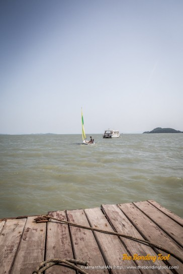 Rang Yai Island is about 15 minutes ride from Coconut Island.