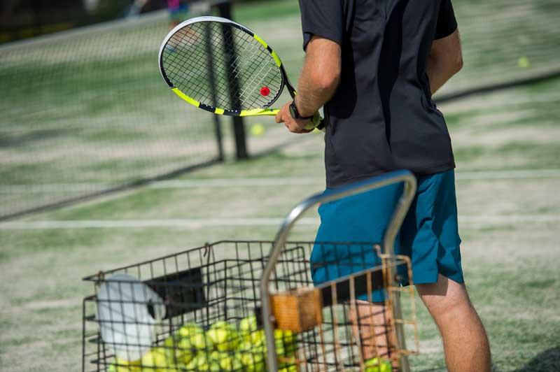Joy of being a tennis coach