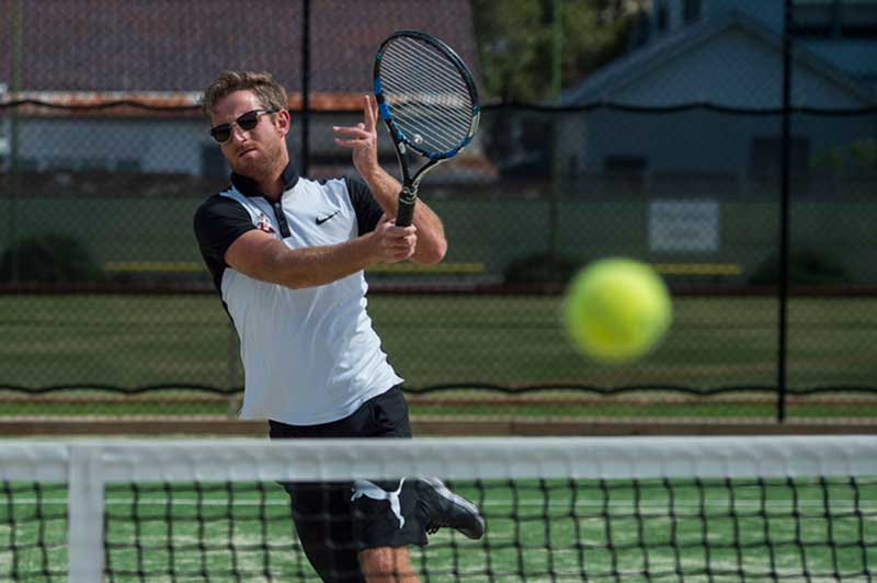 Forehand Tennis Shot Bondi Tennis