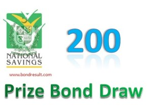 Prize bond Rs. 200 Draw List Result 15th September 2014 (Monday) Faisalabad