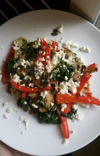 Wellthos June Recipe 1 in the plate