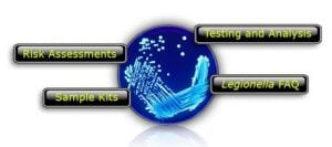 legionella testing image for site