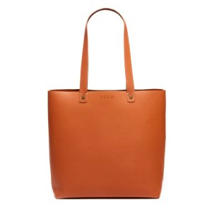 Feed Camel-colored Leather Tote
